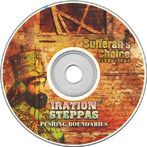 IRATION STEPPAS / PUSHING BOUNDARIES disc