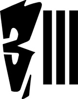3 STRIPE RECORDS logo